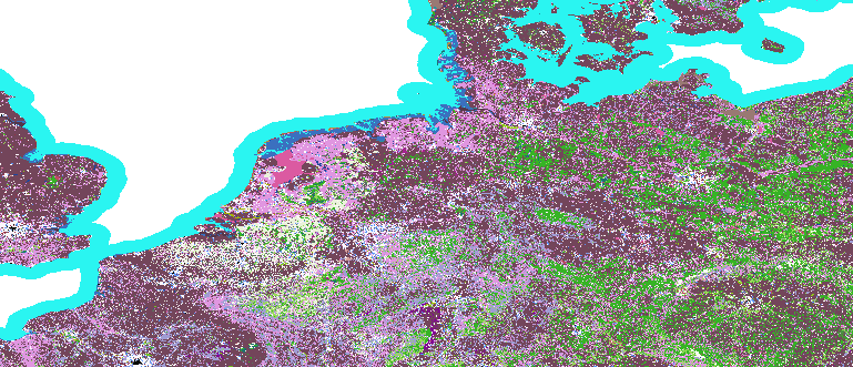 Layer 'Discrete color' rendered in MapServer