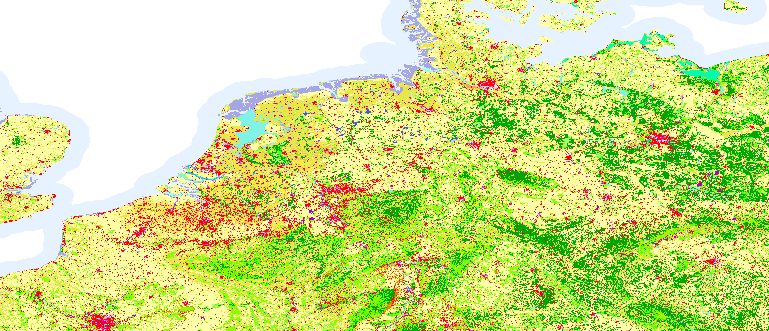 Layer 'Internal color map' rendered in ArcGIS