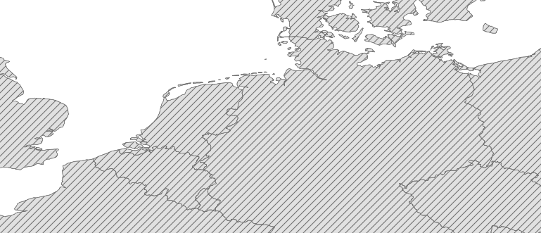 Layer 'Arbitrary angle line fill' rendered in GeoServer