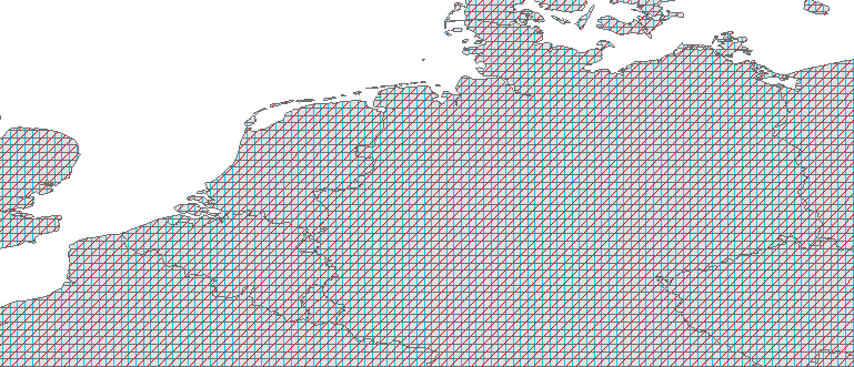 Layer 'Overlapping line fill' rendered in ArcGIS