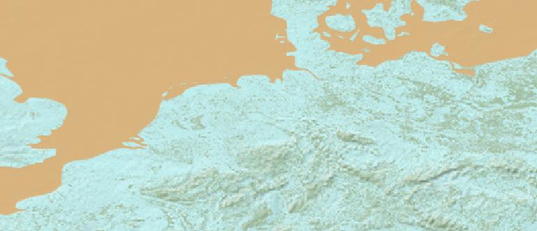 Layer 'Natural earth - bgr' rendered in GeoServer