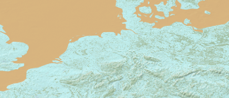 Layer 'Natural earth - bgr' rendered in MapServer