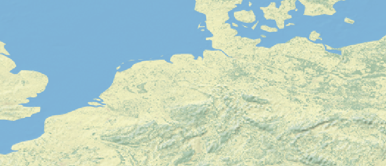 Layer 'Natural earth - rgb' rendered in GeoServer